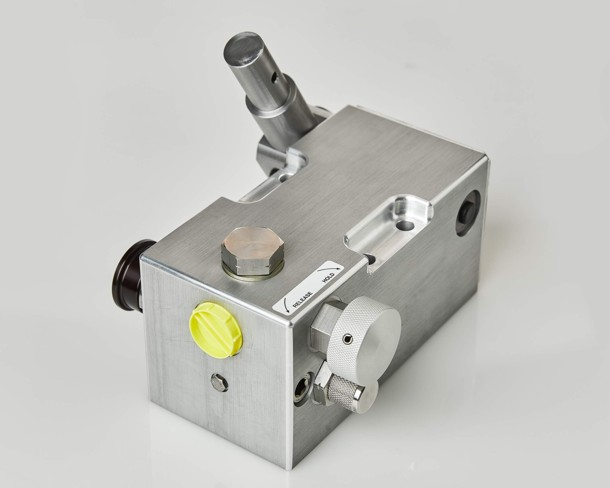 A PSP 2 speed pressure test pump offers a rugged two speed solution.